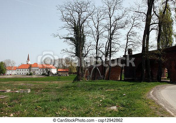 Sisak city in continental Croatia - csp12942862
