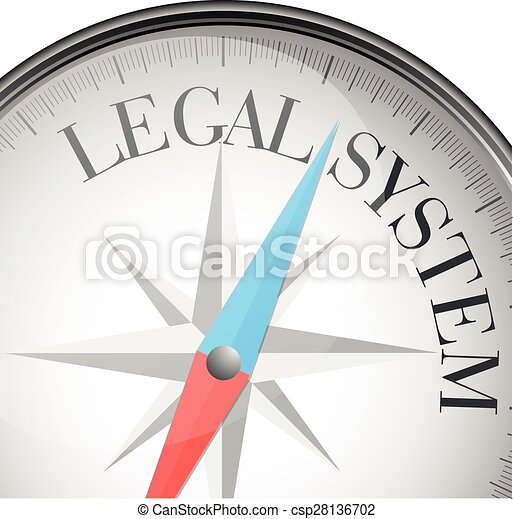 Compass sistema legal - csp28136702