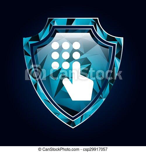 sistema, segurança - csp29917057