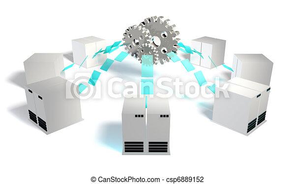 sistemas, integração - csp6889152