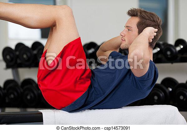Sit-ups - csp14573091