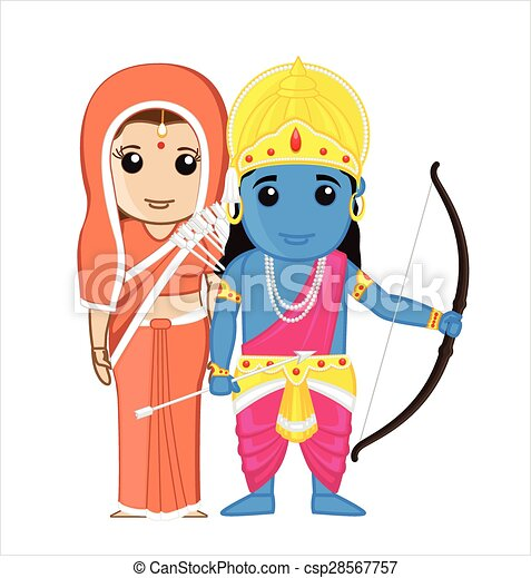 sita and ram indian goddess vector illustration clipart vector rh canstockphoto com clip art indianapolis 500 clip art indian women