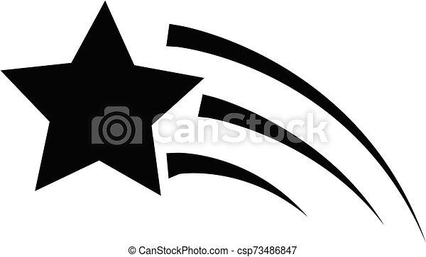 site, conception, icône, logo., plat, ton, tir, toile, signe, étoile, style., ui., logo, arrière-plan., blanc, symbole., app - csp73486847