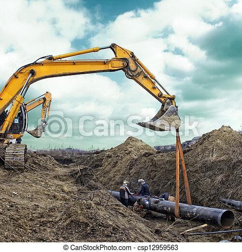 site construction - csp12959563