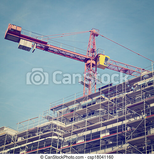 site construction - csp18041160
