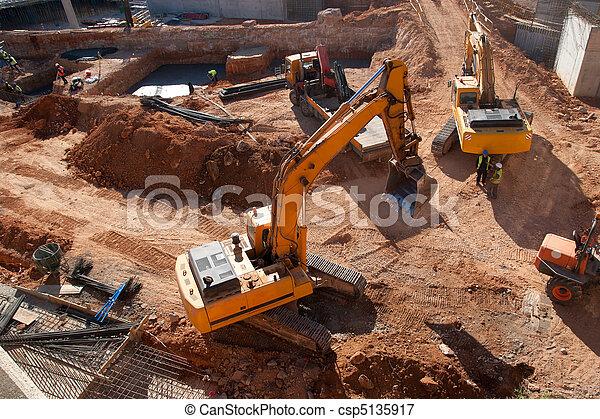 site construction - csp5135917