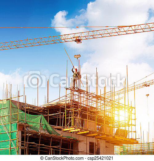 site construction - csp25421021