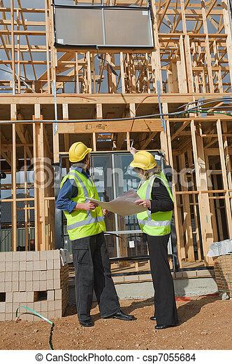 site construction - csp7055684