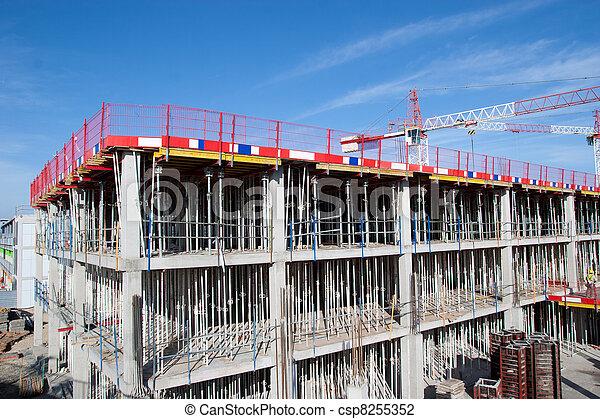 site construction - csp8255352