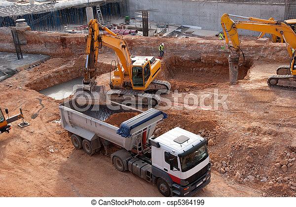site construction - csp5364199
