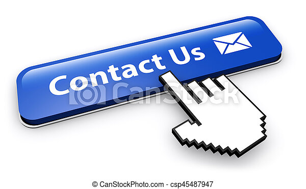 site web, bouton, contact, email, nous - csp45487947
