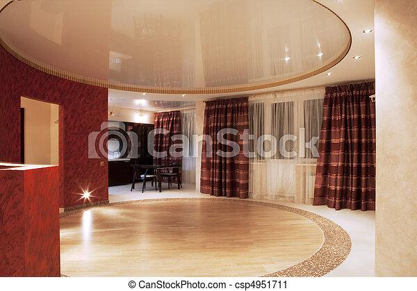 Interior moderno - csp4951711