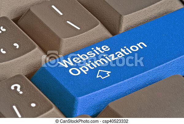 Llave para la optimización de la web - csp40523332