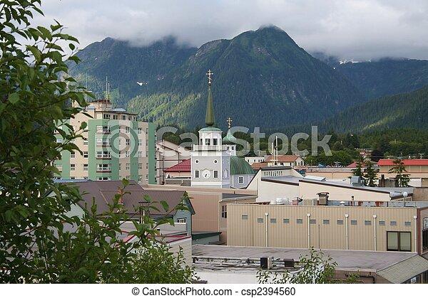 Sitka Alaska - csp2394560
