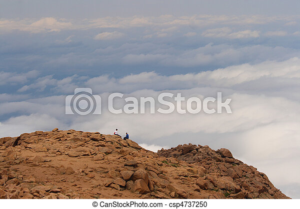 Sitting on Top of the World - csp4737250