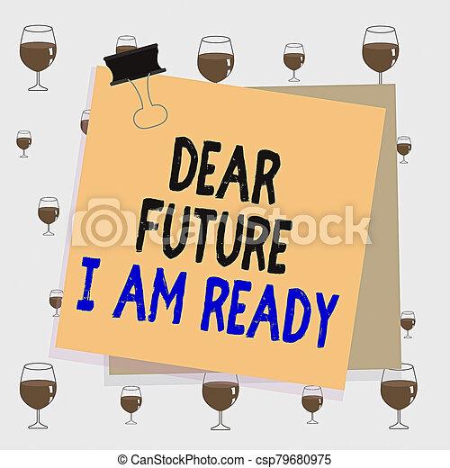 situación, plano de fondo, ser, memorándum, clip, texto, conceptual, papel, futuro, señal, acción, estado, ready., pegado, foto, querido, colorido, completamente, oficina, preparado, actuación, carpeta, recordatorio, supply. - csp79680975