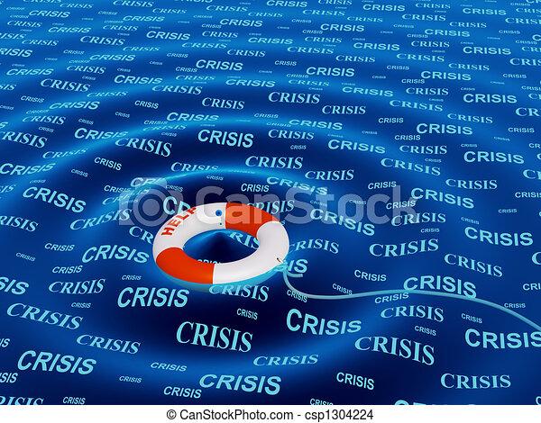 situazione, crisi, aiuto - csp1304224