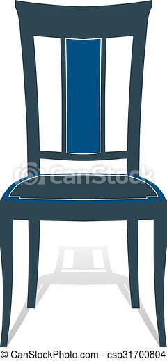 Sessel clipart  Vektor Clipart von sitz, hocker, sessel, stuhl - illustration ...