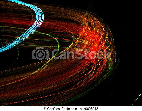 Sixflags at night - csp0005018