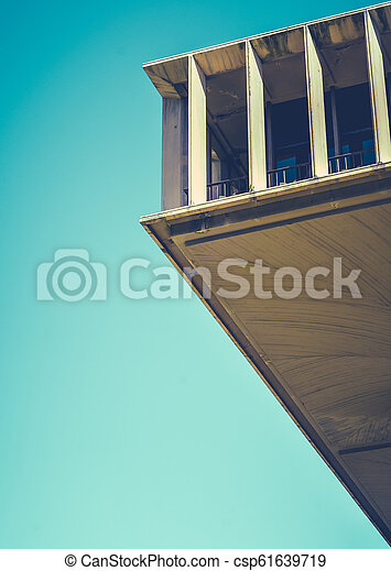 Sixties Concrete Abstract Architecture - csp61639719