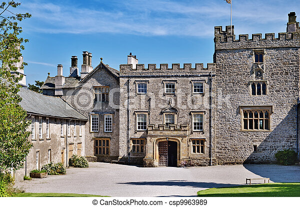 Sizergh Castle, Cumbria, England - csp9963989