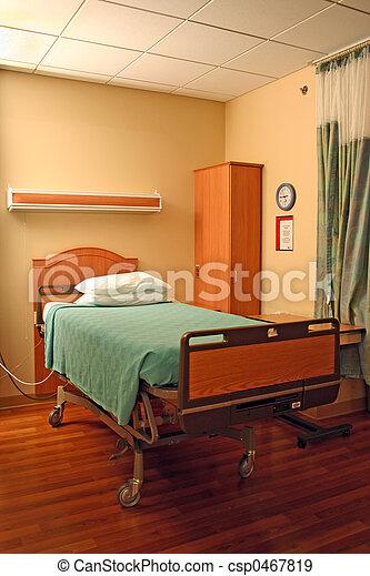 sjukhuset bäddar ned - csp0467819