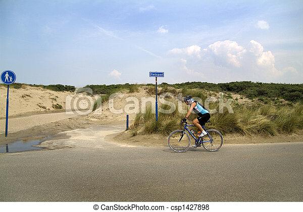skåpbil, holland, voor, hoek, beeld, röntga - csp1427898