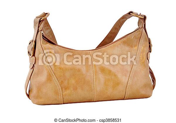 skórzana torba, brązowy - csp3858531