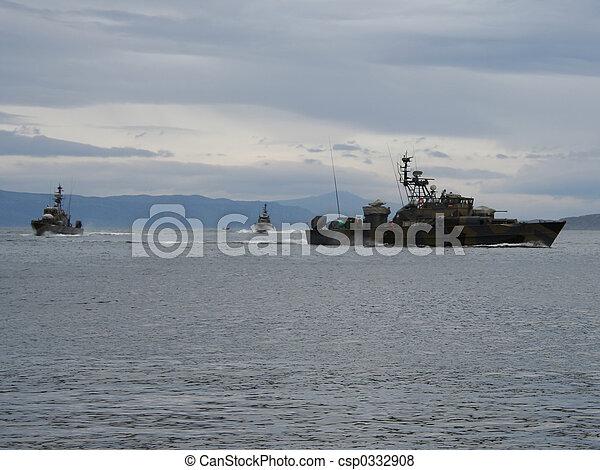 skót, hadihajó, el, lesiklik - csp0332908