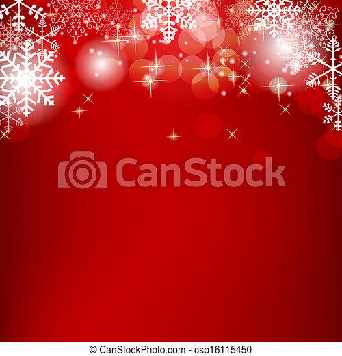 skönhet, abstrakt, illustration, bakgrund., vektor, år, färsk, jul - csp16115450