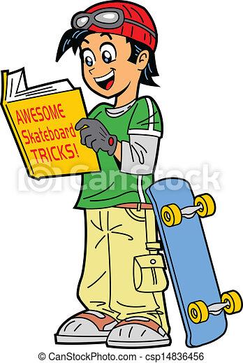 Skateboard Tricks - csp14836456