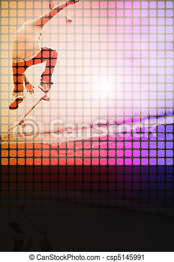 Skater Montage - csp5145991