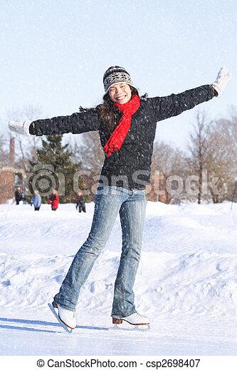 Skating - csp2698407