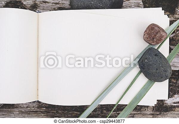 sketch book, mock up - csp29443877