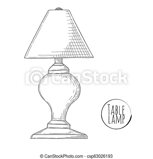 Media Table Lamps Drawing Secret Gallery @house2homegoods.net