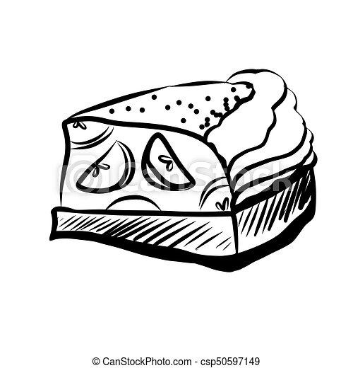 Sketch of Food - csp50597149