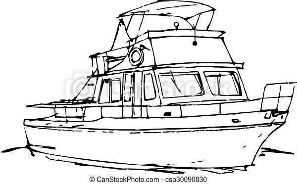 Sketche Offshore Boat - csp30090830