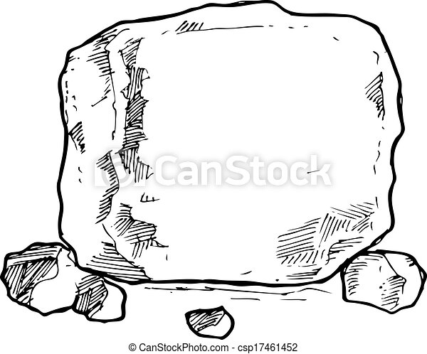 sketchy rock - csp17461452