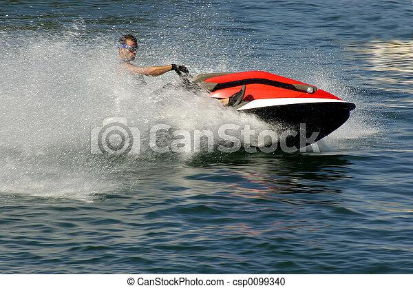 ski, jet - csp0099340