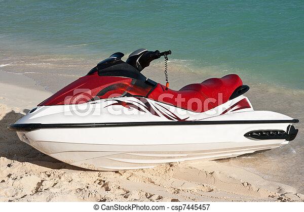 ski, jet - csp7445457