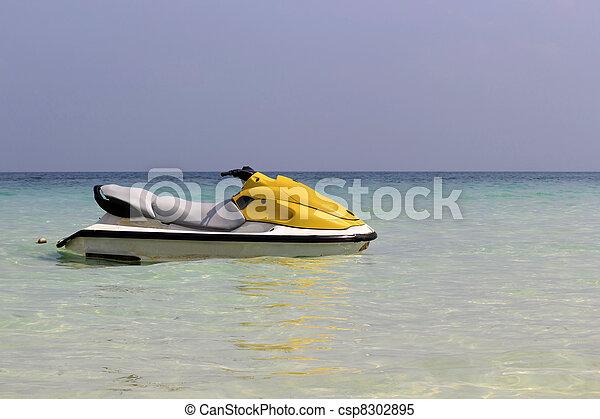 ski, jet - csp8302895