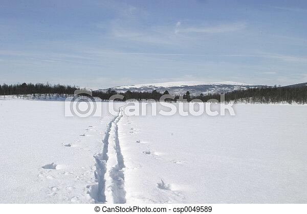Ski Trail - csp0049589
