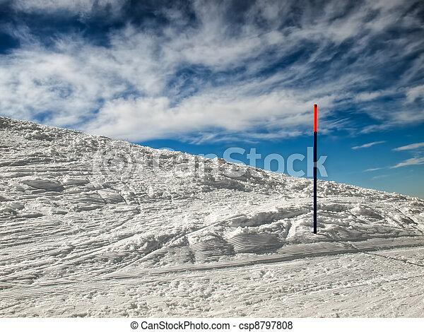 Skiing - csp8797808