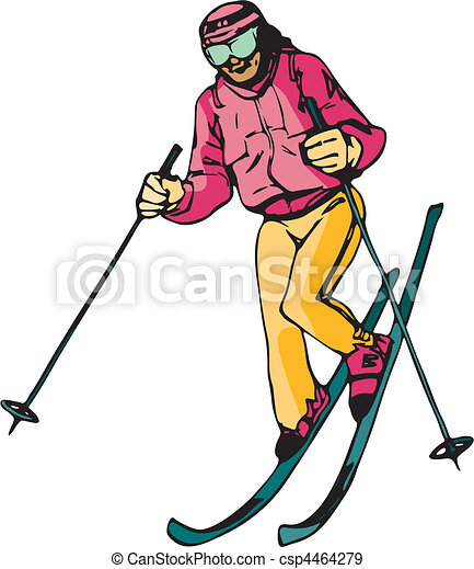 Skiing & Snowboarding - csp4464279