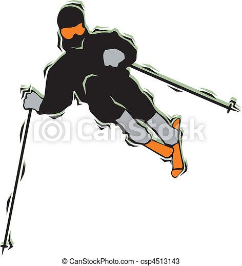 Skiing & Snowboarding - csp4513143
