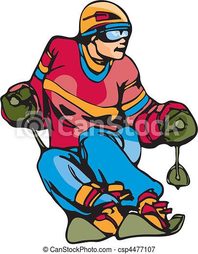 Skiing & Snowboarding - csp4477107