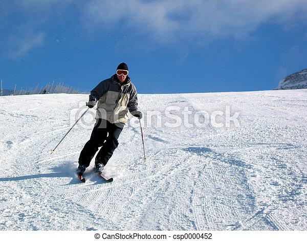 Skiing - csp0000452
