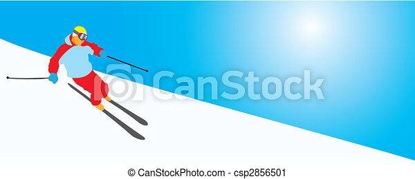 Skiing - csp2856501