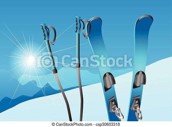 skiing - csp30603318