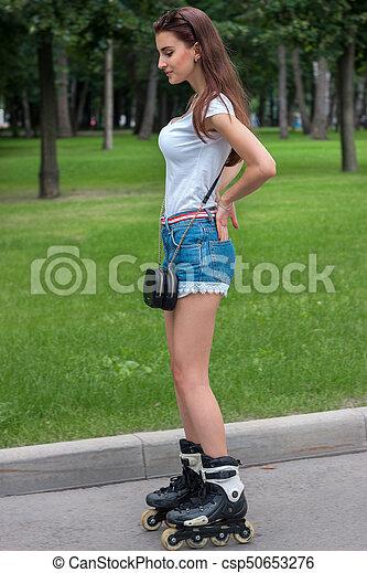 Skinny brunette pics
